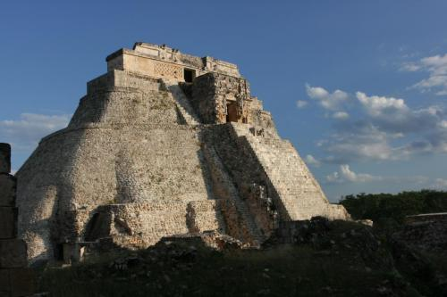 Adivino or the Pyramid of the Magician in Uxmal