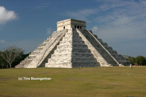 Kukulkan, the most famous pyramid